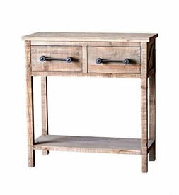 Rustic Wood Kitchen Console Farmhouse End Table Side Table 2