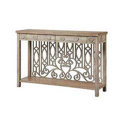 Stein World Harden Console Table, Antique Cream - 13722