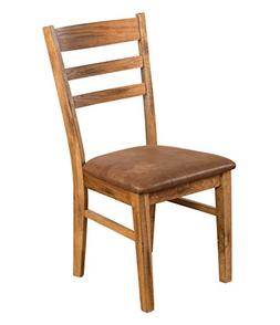Sunny Designs 1616RO-CT Ladder Back Side Chair, Rustic Oak