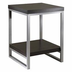 Winsome Wood Jared End Table, Espresso Finish