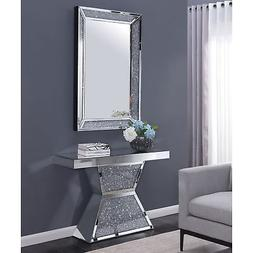 Furniture of America Aarika Mirrored Console Table
