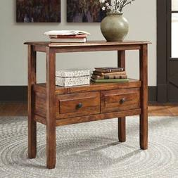 Signature Design by Ashley Abbonto 2 Drawer Accent Console T