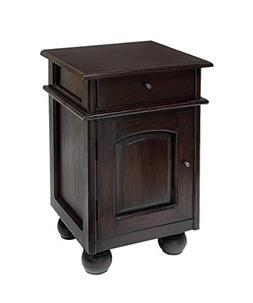 NES Furniture abc10022 Tyssana Nightstand Fine Handcrafted S
