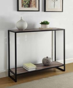 Accent Console Table Furniture Vintage Industrial Rustic Ent