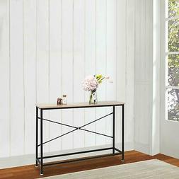 Console Table Modern Sofa End Accent Desk Entryway Hallway H