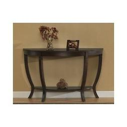 Accent Sofa Table Hard Wood Living Room Hall Furniture CONSO