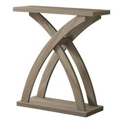 """Indigo Home Accent Table, 32""""L, Taupe Hall Console - I2409"""