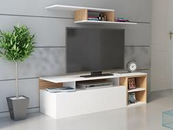 "Decorotika Alice 59"" TV Stand and Media Console with Side En"