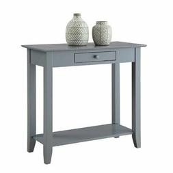 Convenience Concepts American Heritage Hall Table with Drawe
