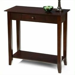 American Heritage Hall Table in Espresso