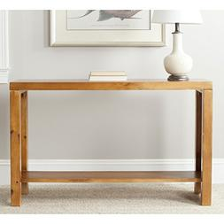 Safavieh American Homes Collection Lahoma Pecan Console Tabl