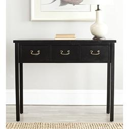 Safavieh American Homes Collection Cindy Console Table, Blac