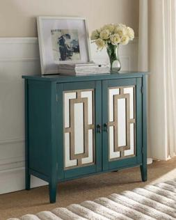 Kings Brand Antique Blue Buffet Server Cabinet / Console Tab