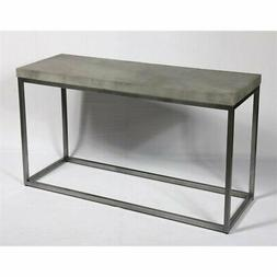 Pemberly Row Arthur Aged Concrete Console Table