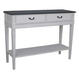 Ashbury Carved 2-Drawer Console Table