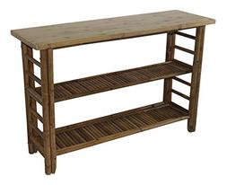 """Bamboo Console Table, 48"""" W x 30"""" H x 15"""" L"""