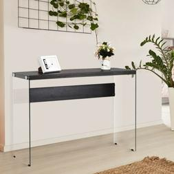 Bedroom Room Entrance Soho Wooden Top Console Table With Tem