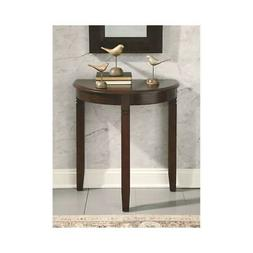 birchatta brown casual console table brown