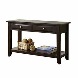 Furniture of America Bonner Modern Console Table in Espresso