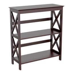 Bookcase Bookshelf Console Side Table Storage Rack Display S