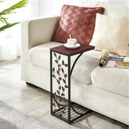 C Small Side End Tables Snack Accent Console Laptop Table Ni
