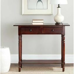 Safavieh Cape CodDark Cherry 2-drawer Console Table - Rectan