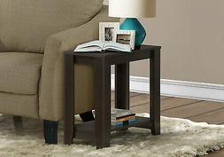 Monarch Specialties I 3119 Accent End Side Lamp Table with S