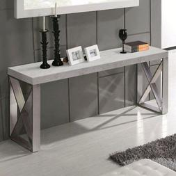 Diamond Sofa Carrera Marble Console Table