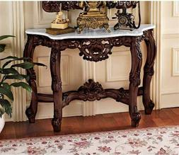 Design Toscano Chateau Gallet Marble-Topped Table