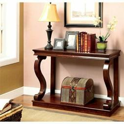 chersie wood console table