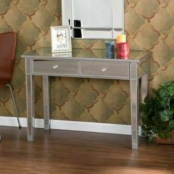 CM9163R Mirage Mirrored 2-Drawer Console Table