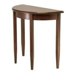 Concord Half Moon Occasional Hallway Accent Table Antique Wa
