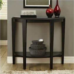 "Pemberly Row 36"" Console Accent Table in Cappuccino"