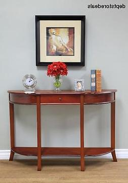 Frenchi Home Furnishing Console Sofa Table with Drawer, Brow