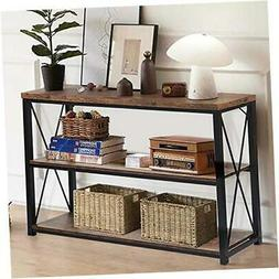 Console Sofa Table, Rustic Console Table&TV Stand,Industrial