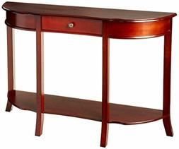 Frenchi Home Furnishing Console Sofa Table with Drawer. Maho