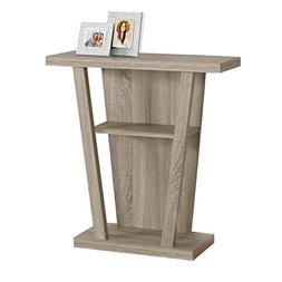 Console Table, Dark Taupe