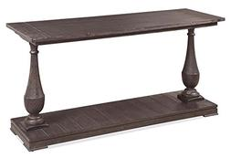 Bassett Mirror Company Console Table in Coffee Bean