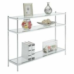 Pemberly Row Console Table in Chrome