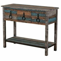 Bowery Hill Console Table in Colorful