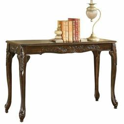 Bowery Hill Console Table in Dark Cherry