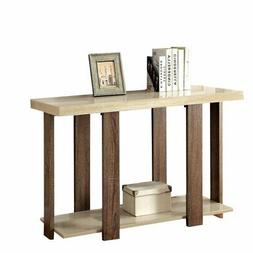 Bowery Hill Console Table in Light Oak