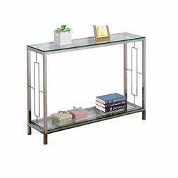 Console Table Modern Accent Side Stand Sofa Bedroom Living R