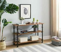 Console Table Rustic Furniture Industrial Accent Entryway So