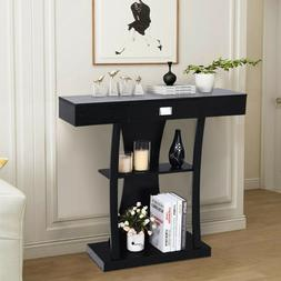 Console Table Sofa Entry Hallway Desk Storage Display Shelve