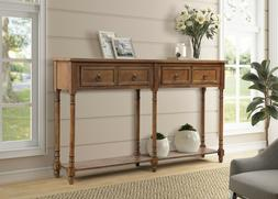 Console Table Sofa Table with Drawers Console Tables for Ent