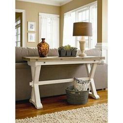 Beaumont Lane Console Table in Terrace Gray
