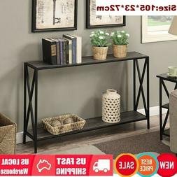 Console Table Vintage Accent Stand Sofa Side Entryway Hall D