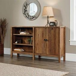 Pemberly Row Console Table in Vintage Oak