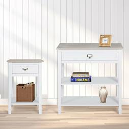 Console Table With Drawer Entryway Sofa Accent Hallway Livin